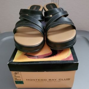 Payless Montego Bay Wedged sandals